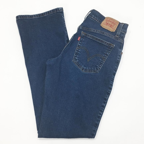 b7e5aba2991 Levi s Denim - Levis Strauss 550 Womens Jeans Relaxed Boot Cut 8L
